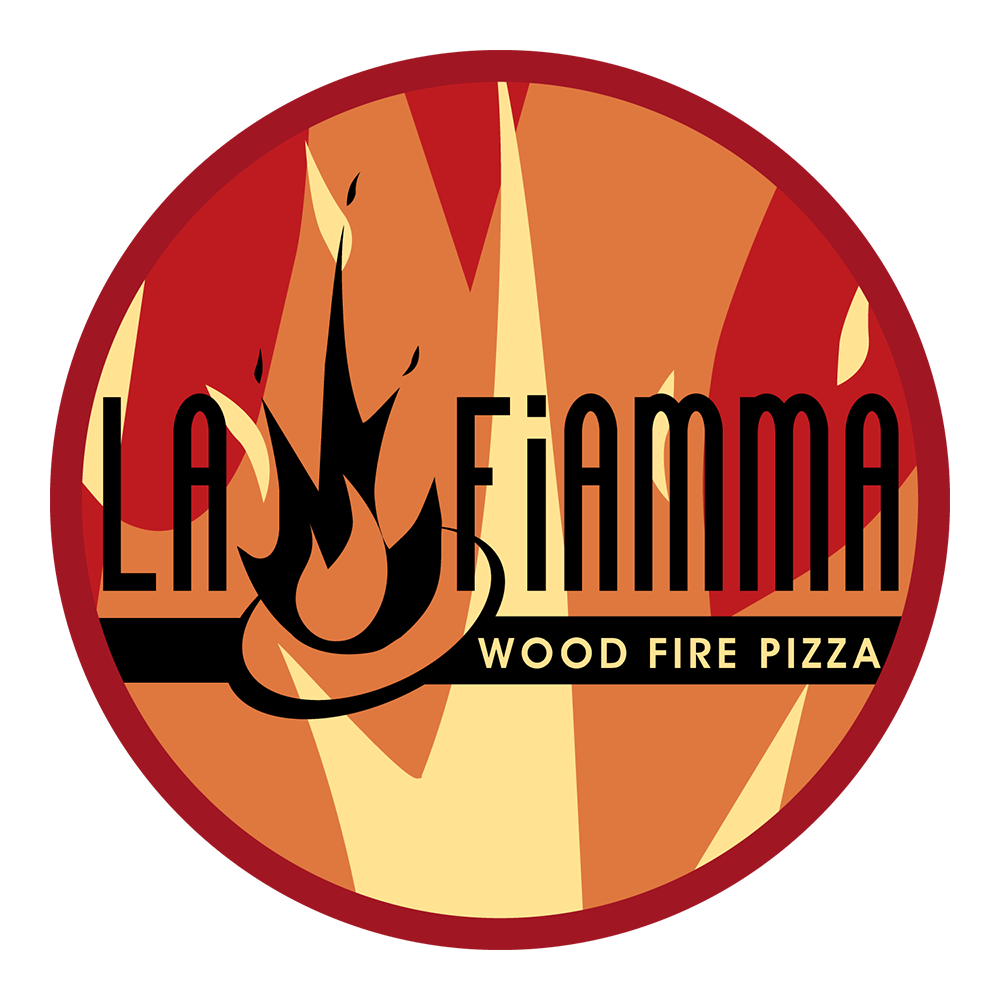 Click to download La Fiamma :: Wood Fire Pizza logos.