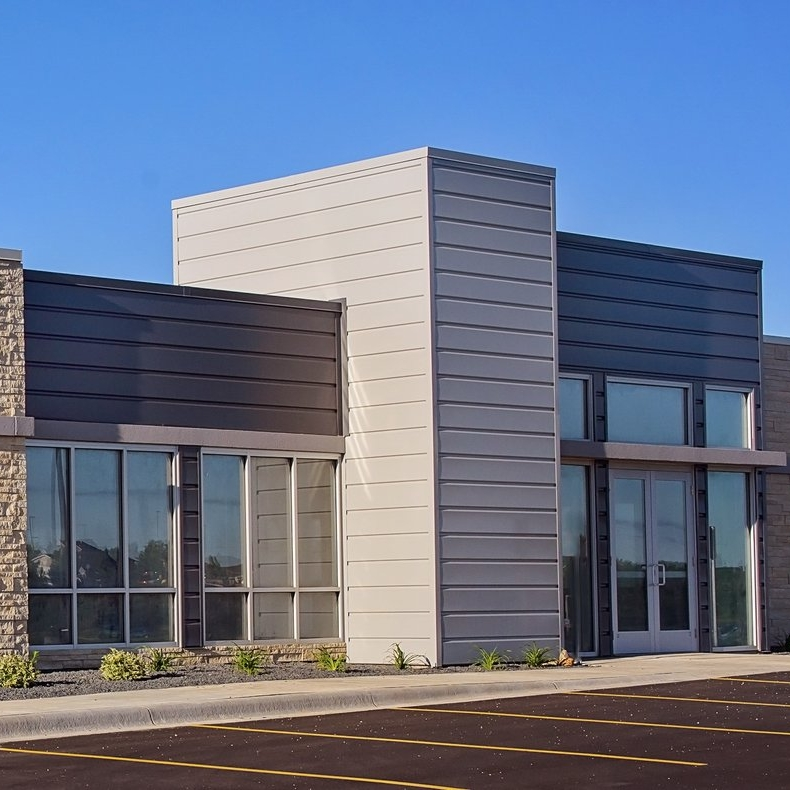 Secure Commons West   Construction of a 5,720 sf office building that consisted of a common area and potential of two tenant spaces.