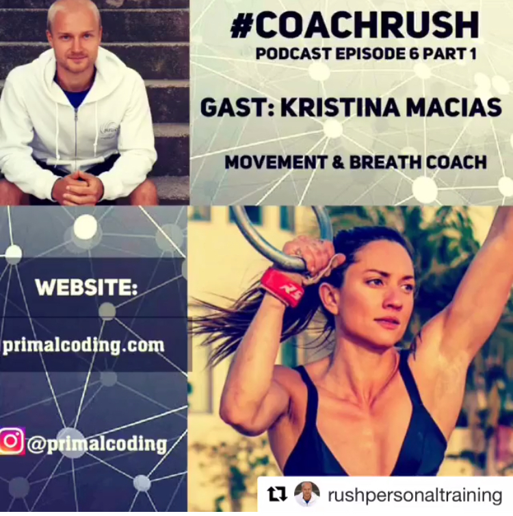 In this  first conversation  with coach rush we discuss what Primal Coding is and how it got started. We explore the four corners of the breath and what it means and my many other observations and thoughts on how to live to your fullest potential.