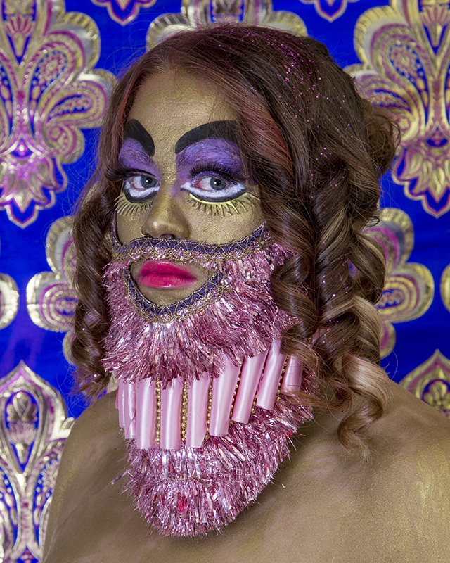 "Rachel Stern, Bearded Idol, in collaboration with James Lyman, 2013, C-Print, 20"" x 25"", Edition 2/7"