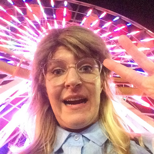 #FBF for instagram I like to use real life light filters, like this wheel of ferris to color my photographs.  #iwokeuplikethis #aslaug