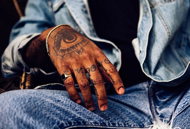 Shoot. #shoot #photography #handtattoo #vodka #blueicevodka #denim #photooftheday