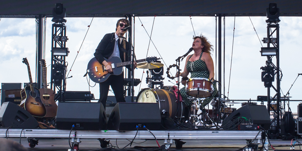 Shovels and Rope doing there thing...