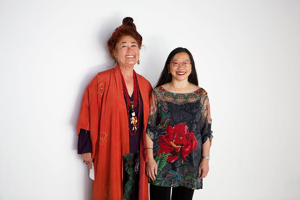 Nancy Hom and Brenda Wong Aoki