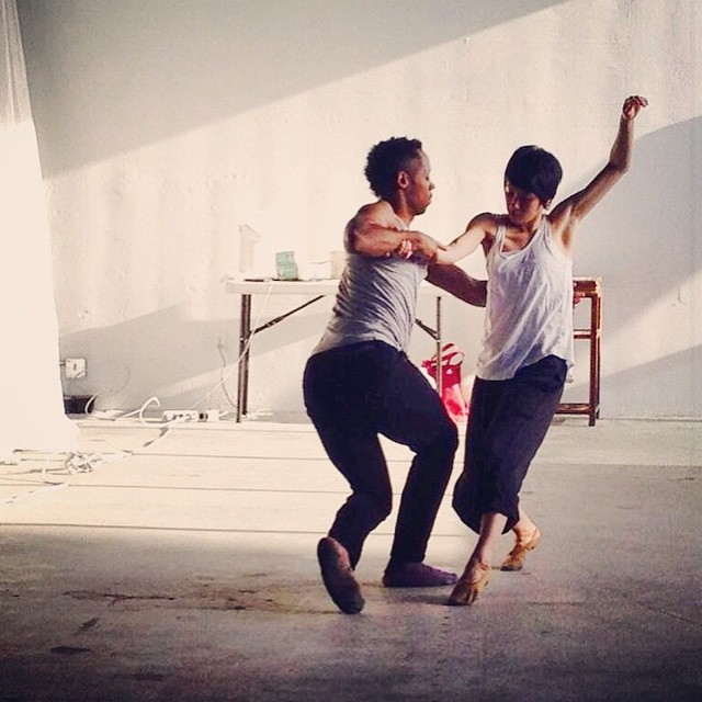 Get your tickets for A Walk Through Time!!! Link in profile :) ✨✨✨💃🎻🎺🎷🎸🎶✨✨✨ Repost of Ayana Yonesaka and ArVejon Jones rehearsing for Suite J-Town. Photo by Celi Tamayo-Lee @celerytomatopea #suitejtown #dance #resilience #partners #choreography #art #japantown #sfjapantown