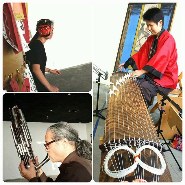 """Walk through Time"" rehearsal #suitejtown #sfjapantown #shokohikage #markizu"