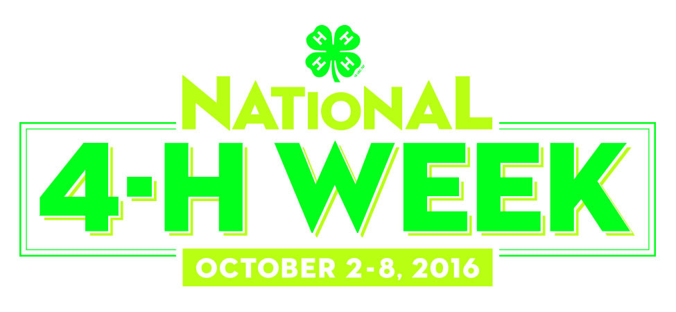 October 2rd - 9th is National 4-H week. See our display by the front doors and if you have any questions about joining call or email Leslie Taylor. 262-343-0076/ taylor.leslie12@gmail.com
