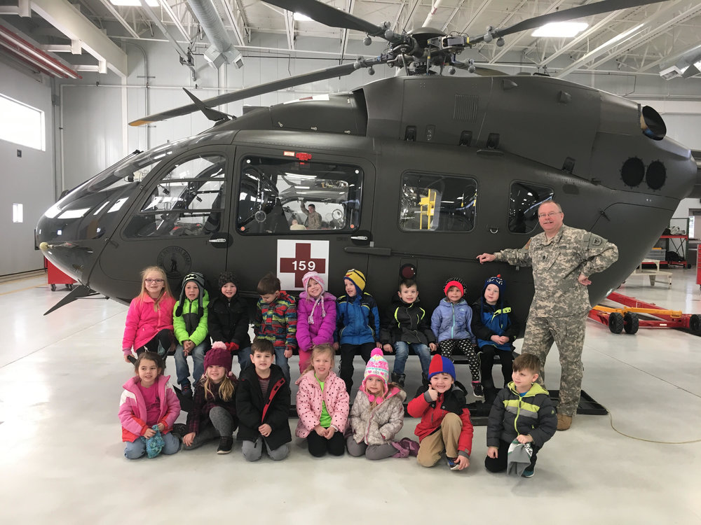 visiting the National Guard