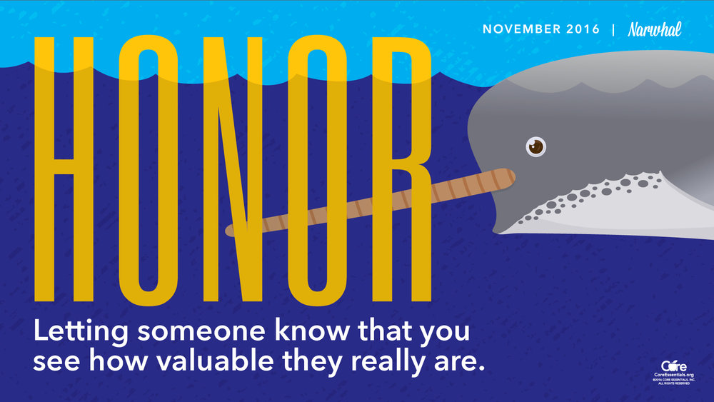 November's Core Essential is Honor