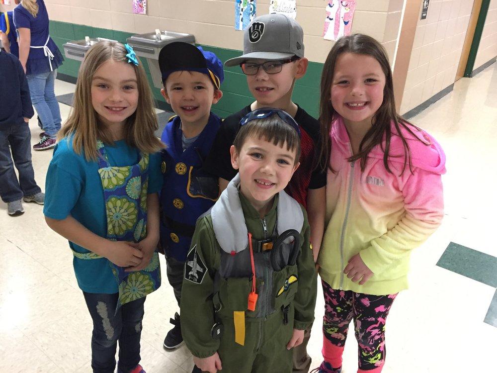 Students enjoyed celebrating Reading Across America Week!