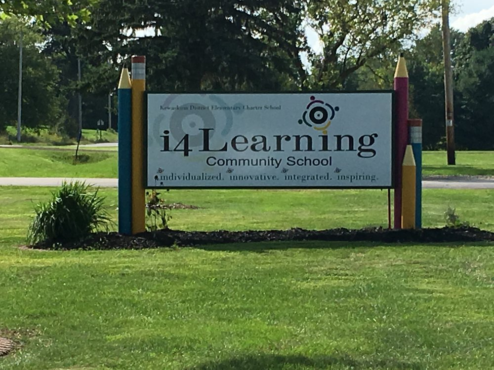 "A huge ""Thank You"" to: Kemmel Designs, Drexel Building Supply, Forward Products, and all of our i4L PTO Families who support our school! Our new sign would not be possible without you!!"