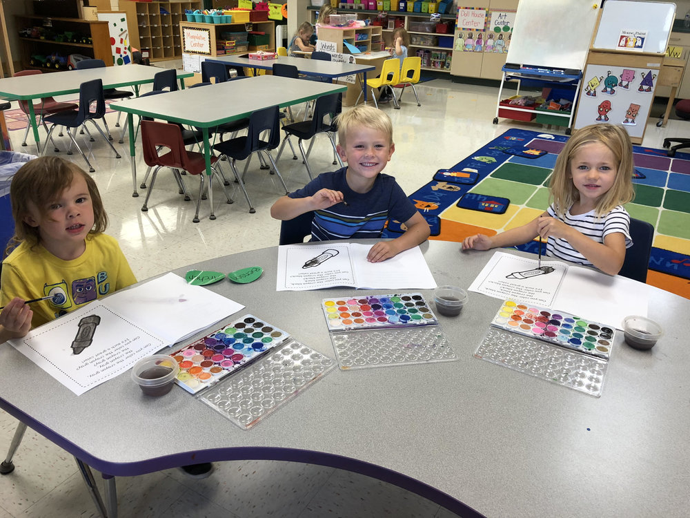 painting in their colors book