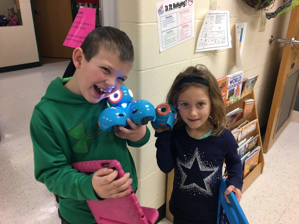 PBIS Winners having Robot Time!