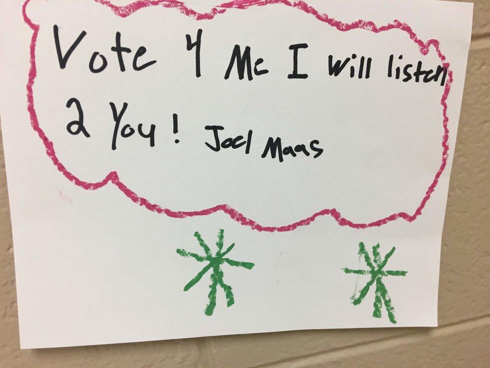 Vote for Joel
