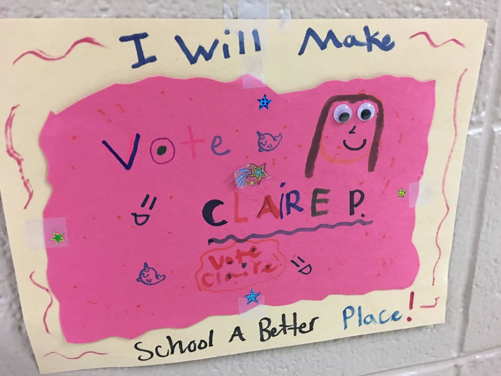 Vote for Claire