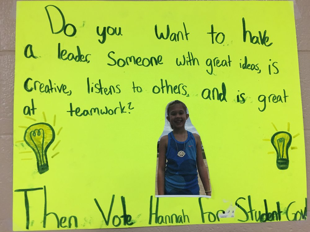Vote for Hannah