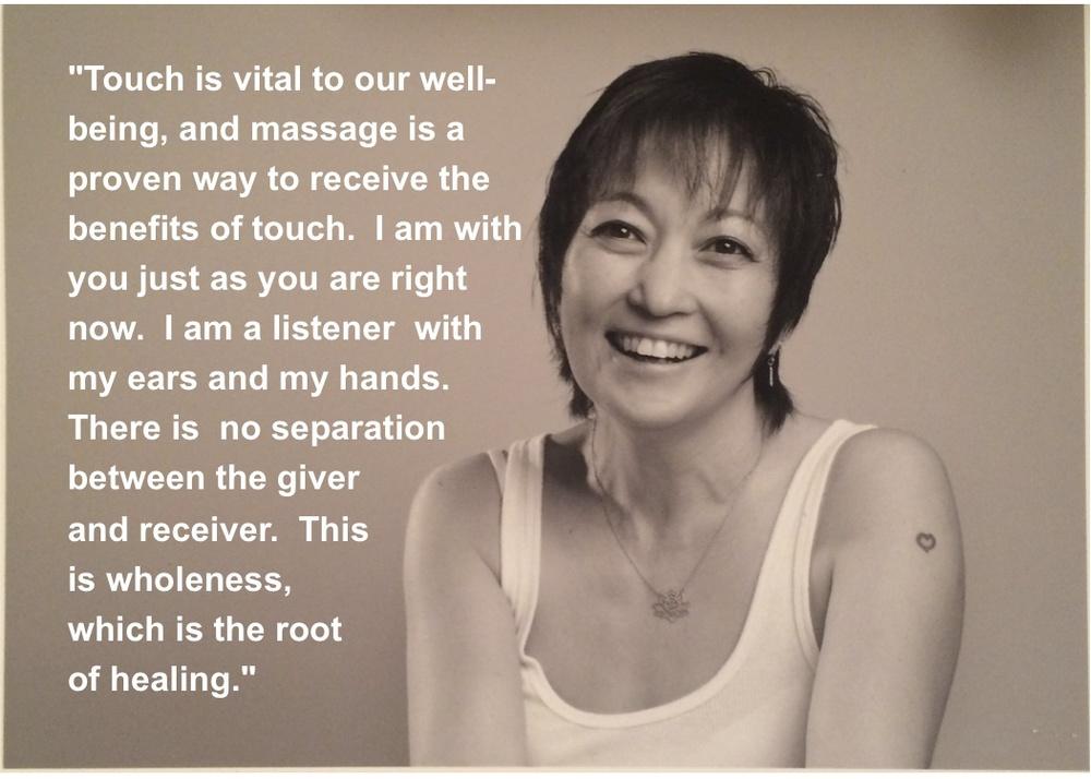 Introducing Bettina Peterson, Massage Therapist  Sun -3694
