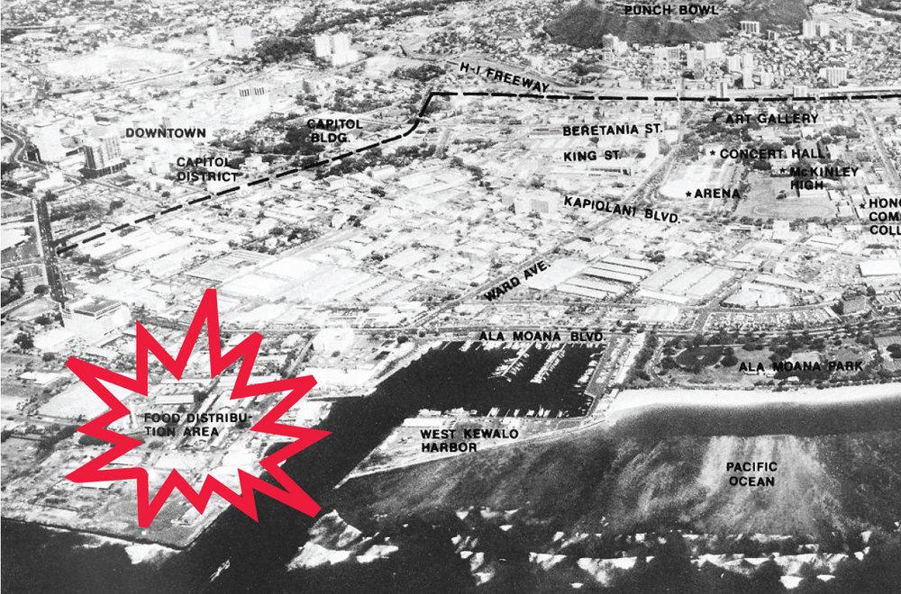 1974 plan of Kaka'ako