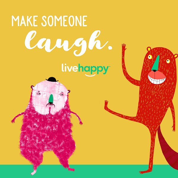 It's #letslaughday! Tag someone who always makes you LOL. 😂 #happyacts