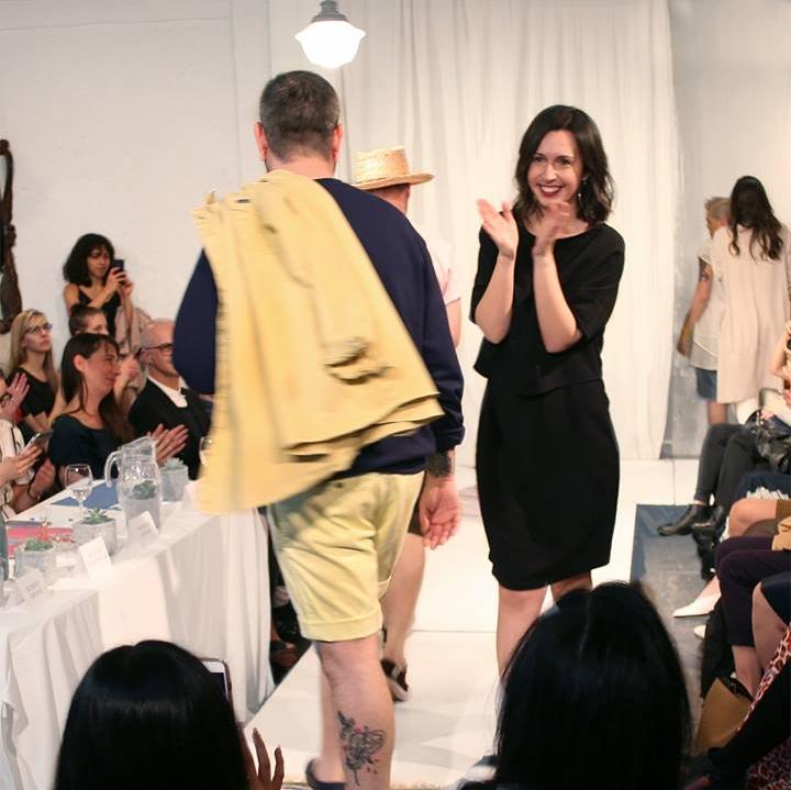 Andreanne Beachamp, eco-styliste de La Gaillarde