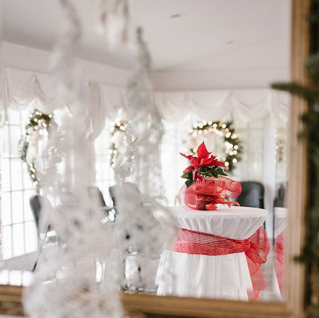 Loving the pop of color on this table 💕💕 #eventdesign #christmasphotography #christmastime #beautiful #decor #decorating