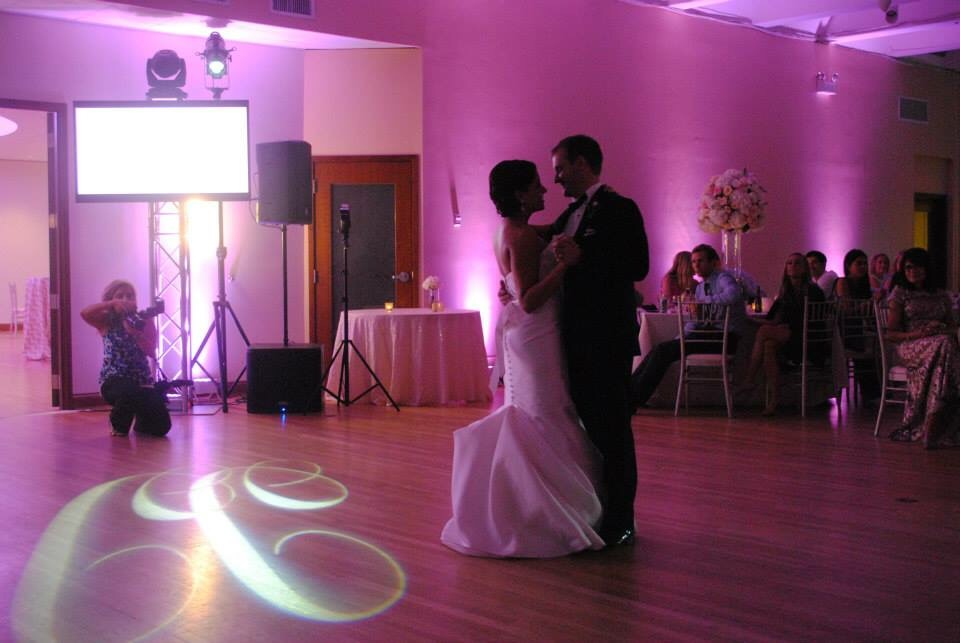 A beautiful first dance.