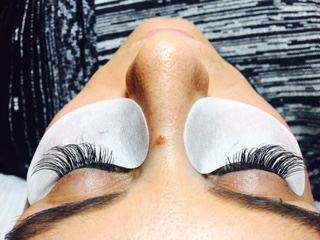 Gorgeous, full final lashes.