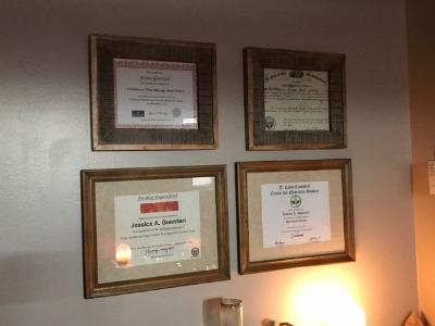 Jessica's numerous accolades.