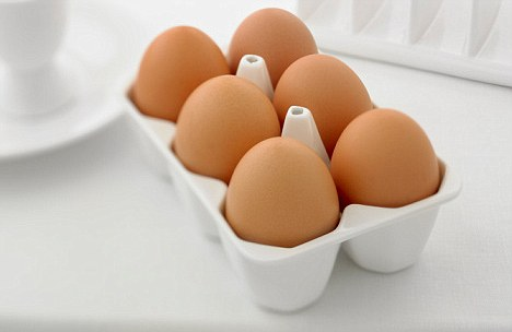 eggs are a daily staple