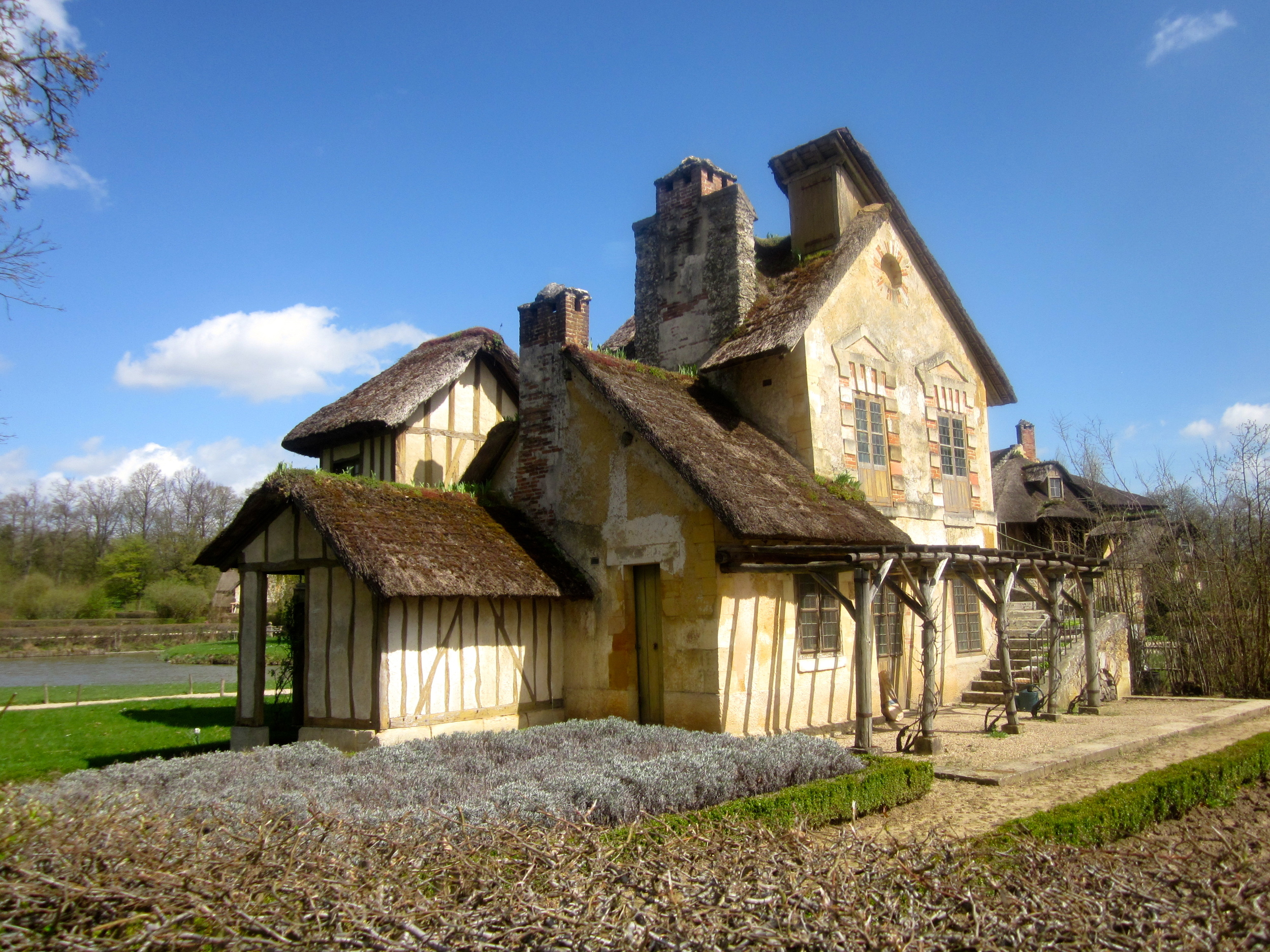 one of dwellings in hamlet at the Gardens of Villandry, Loire Valley