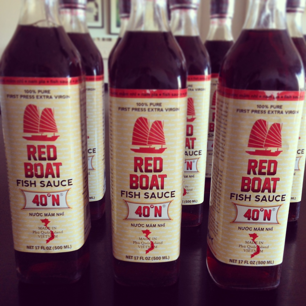 Red boat fish sauce vietnamese pho recipe star anise for Red fish sauce