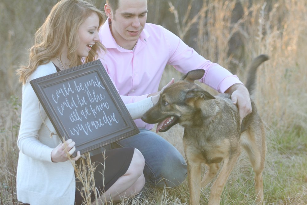 Jon Courville Photography - Charlotte, NC, Baby Announcement