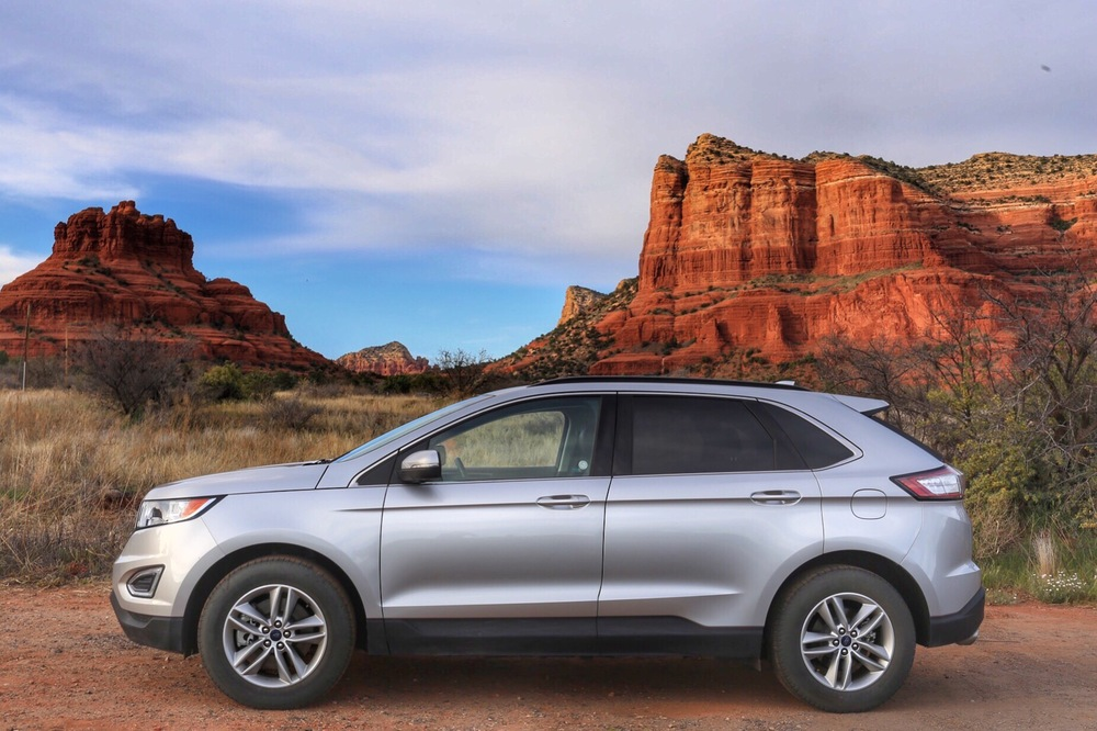 Ford Edge Sedona Arizona Bell Rock Jon Courville
