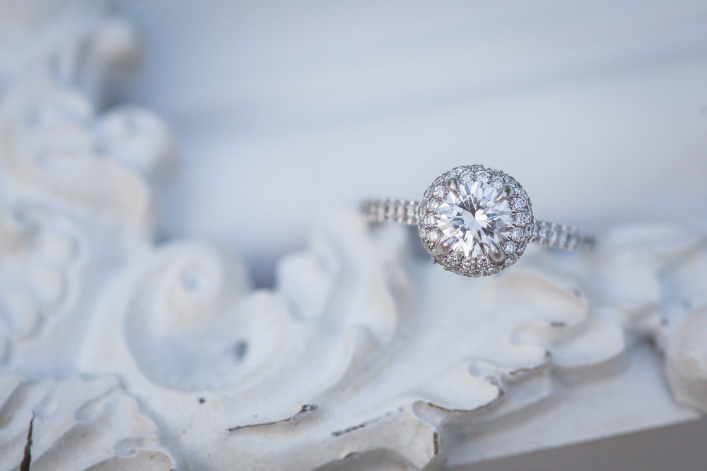 The Dairy Barn, Silver Engagement Ring_Jon Courville Photography