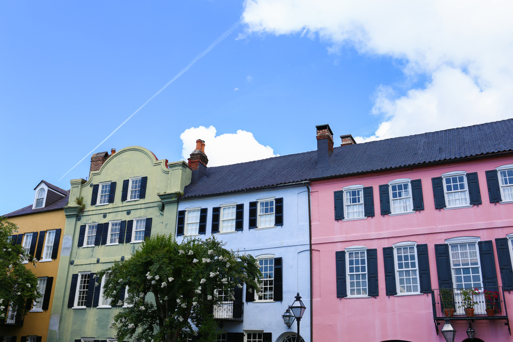 Rainbow Row, Charleston, SC, Jon Courville Photography