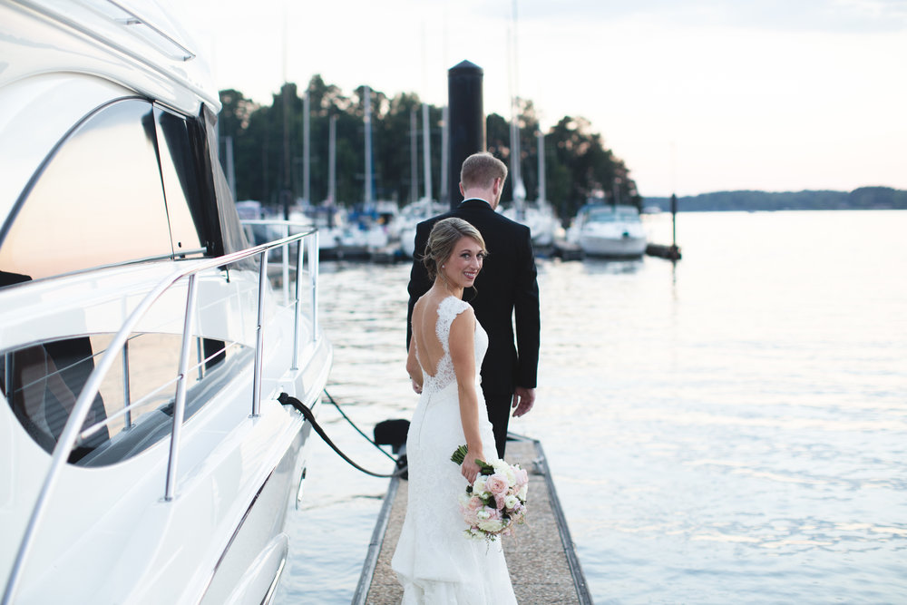 Peninsula Yacht Club Wedding Jon Courville Photography