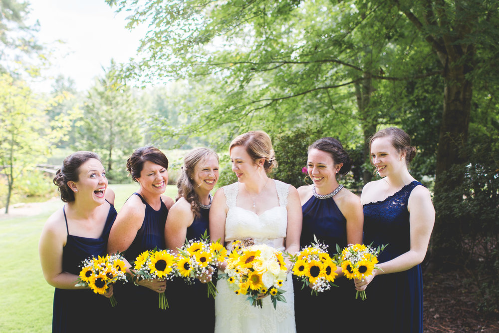 Copy of Navy Bridesmaids dresses