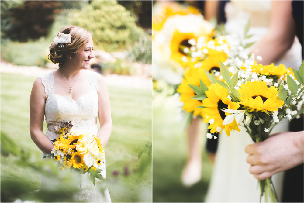 Copy of Bridals with Sunflowers