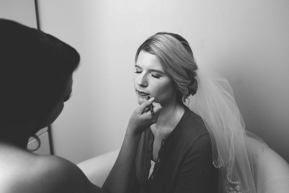 Bridal Shots Getting Ready