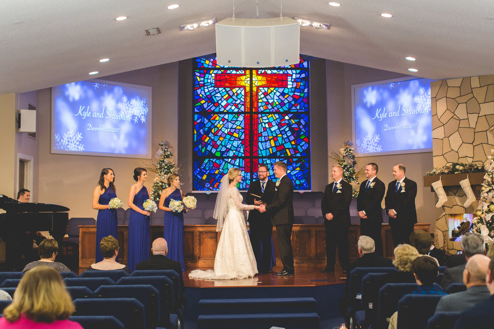 Charlotte NC Wedding Laurel Baptist Church