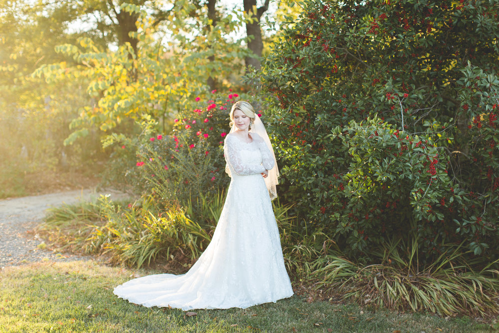 Morning Glory Farm Bridal Session