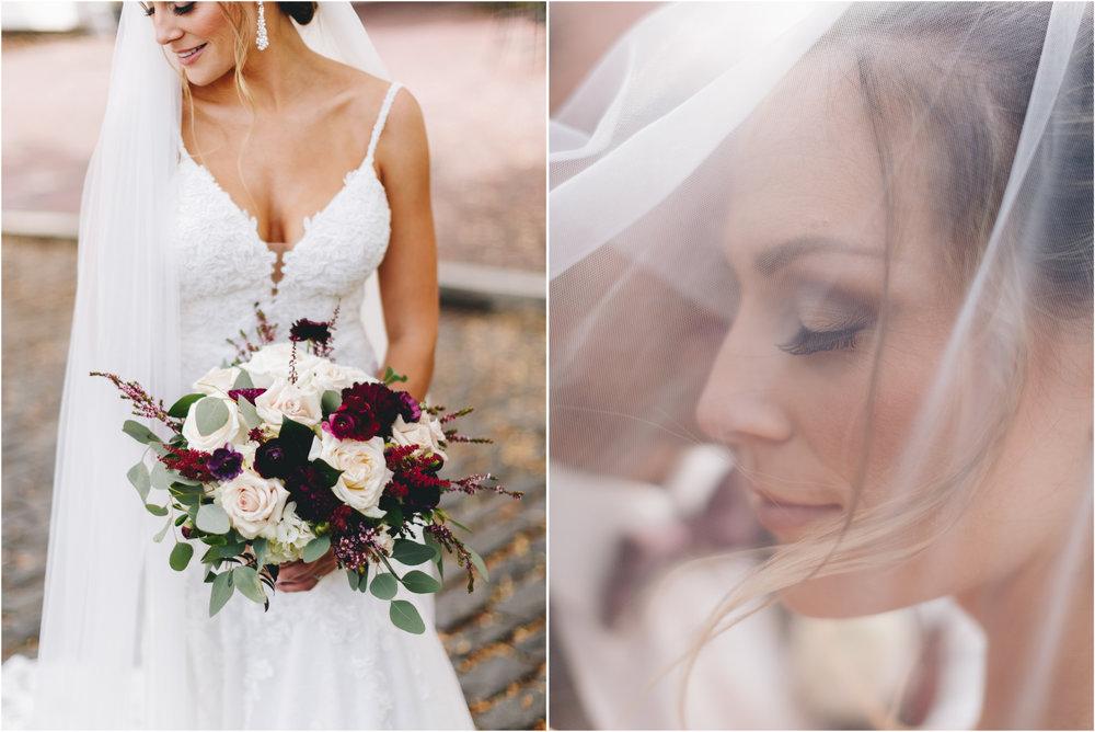 Bridal portraits poffie girls bridal gown