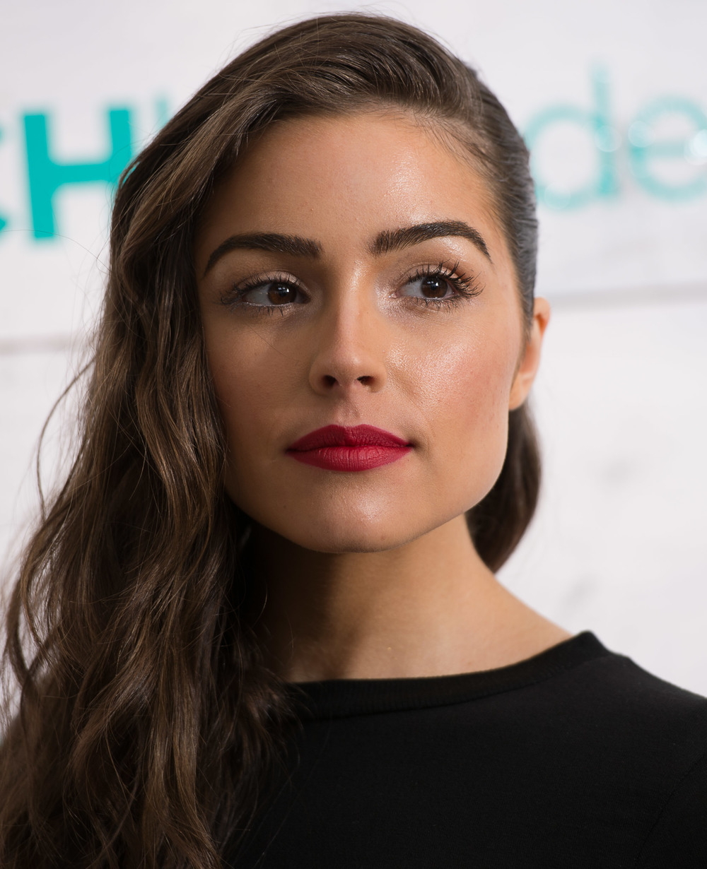 Miss Universe 2012 Olivia Culpo attends the John Frieda Hair Care Beach Blonde Collection Party at the Garage