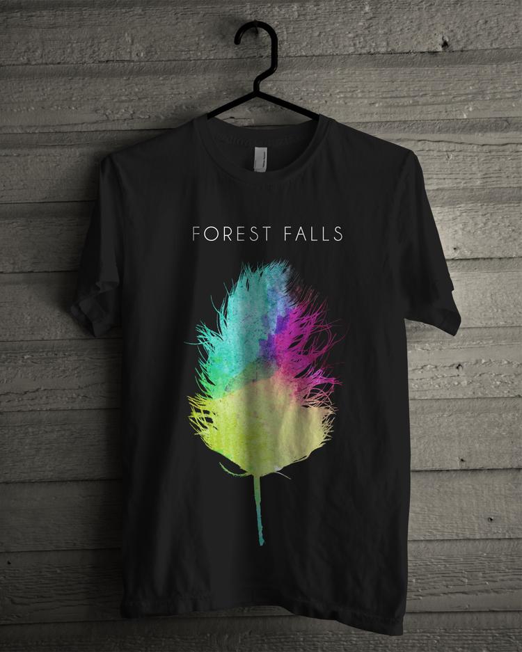 Black FF Logo T-Shirt