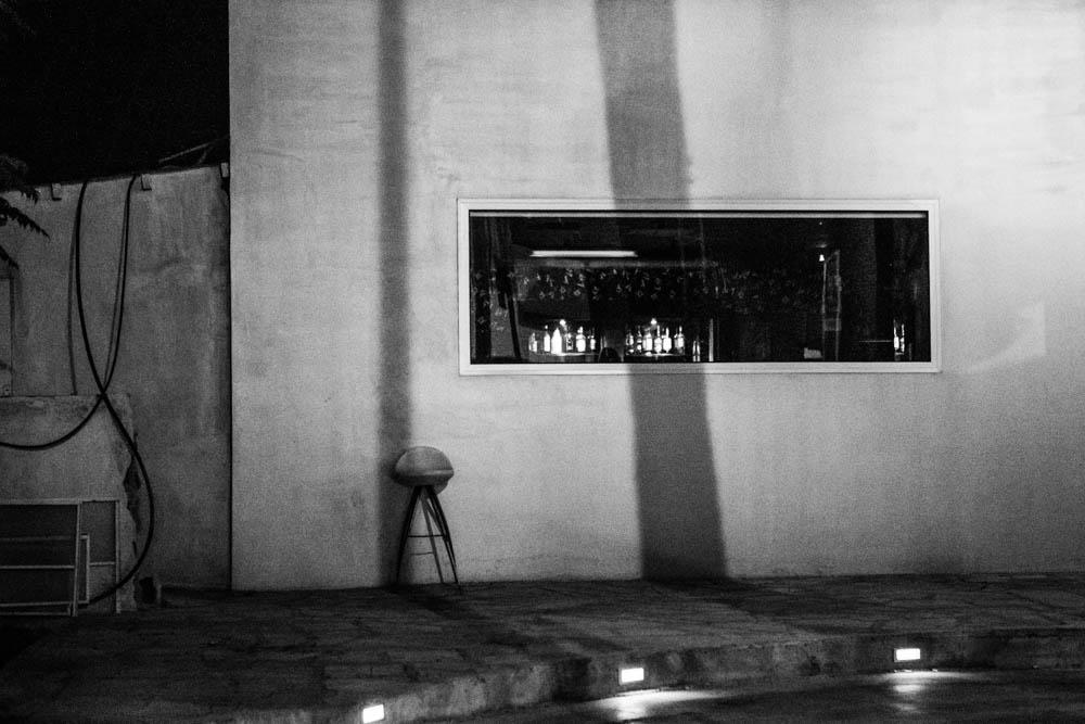 A bar in Limassol, Cyprus