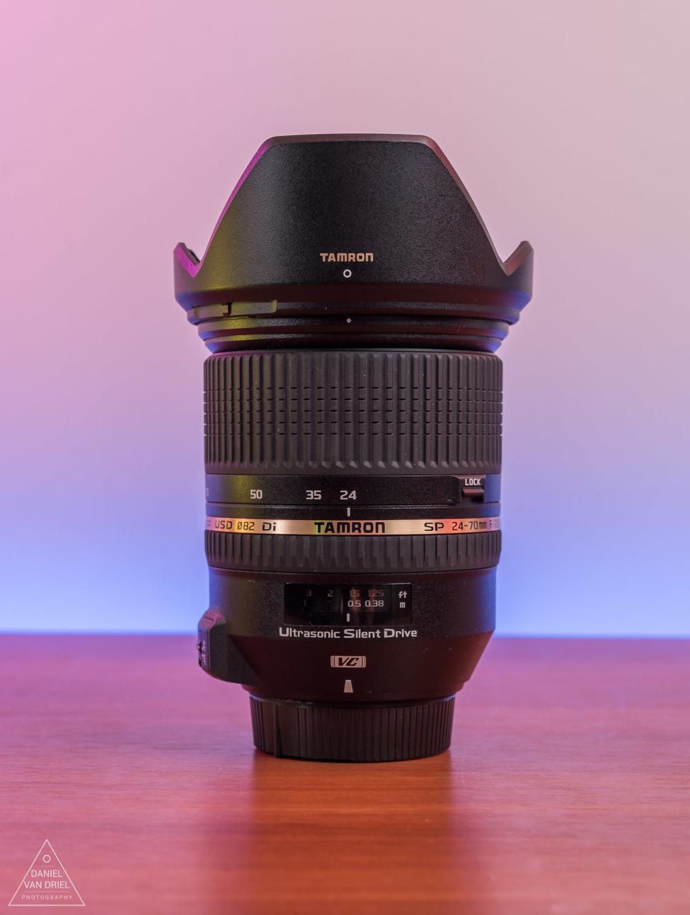 Lens at 24mm