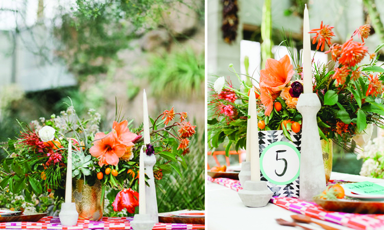 Floriography Flowers | Pie Shoppe Photography | Little Feather Bakery | featured on Green Wedding Shoes | New Mexico