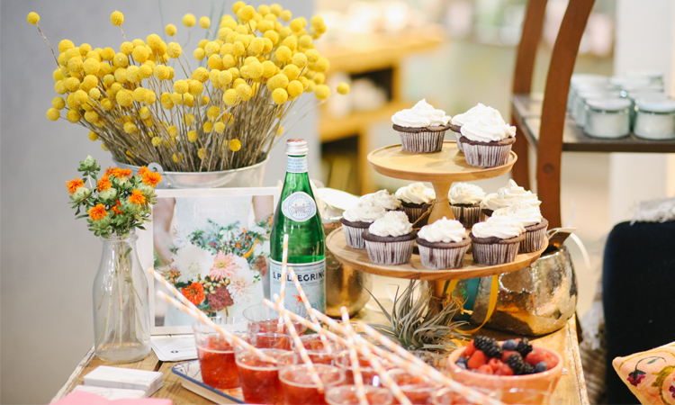 Floriography | Anthropologie Events | Little Feather Bakery | Pie Shoppe Photo | New Mexico