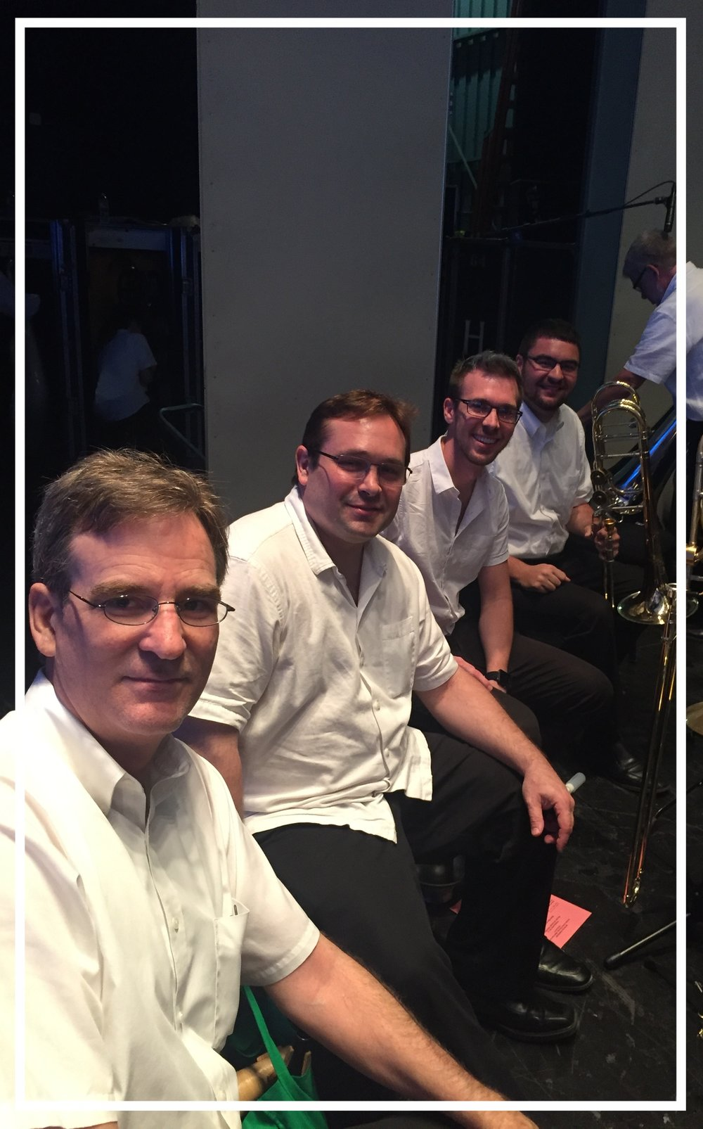 Houston Symphony Orchestra Trombone Section   Allen Barnhill, Principal Trombone  Brad White, Second/Associate Principal