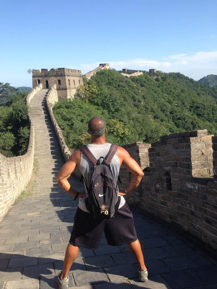 ted on the great wall of china jon and teds excellent gamecast.jpg